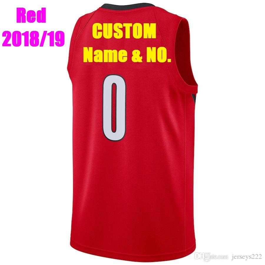 Compre Camisetas De Baloncesto Personalizadas Portland Trail Para Hombres 43838f584e963
