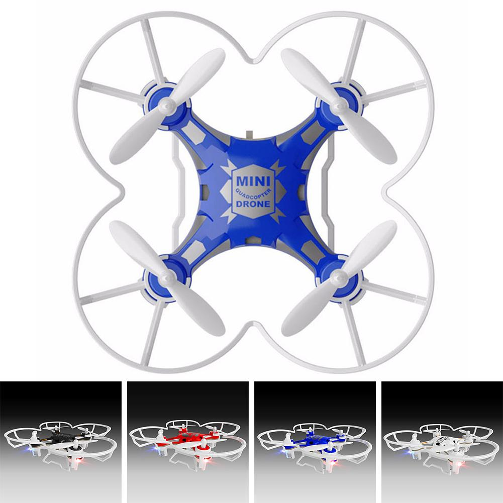 ORIGINAL 124 Mini Quadcopter Micro Pocket Drone 4CH 6Axis Gyro Switchable Controller RC Helicopter for Kids Toys