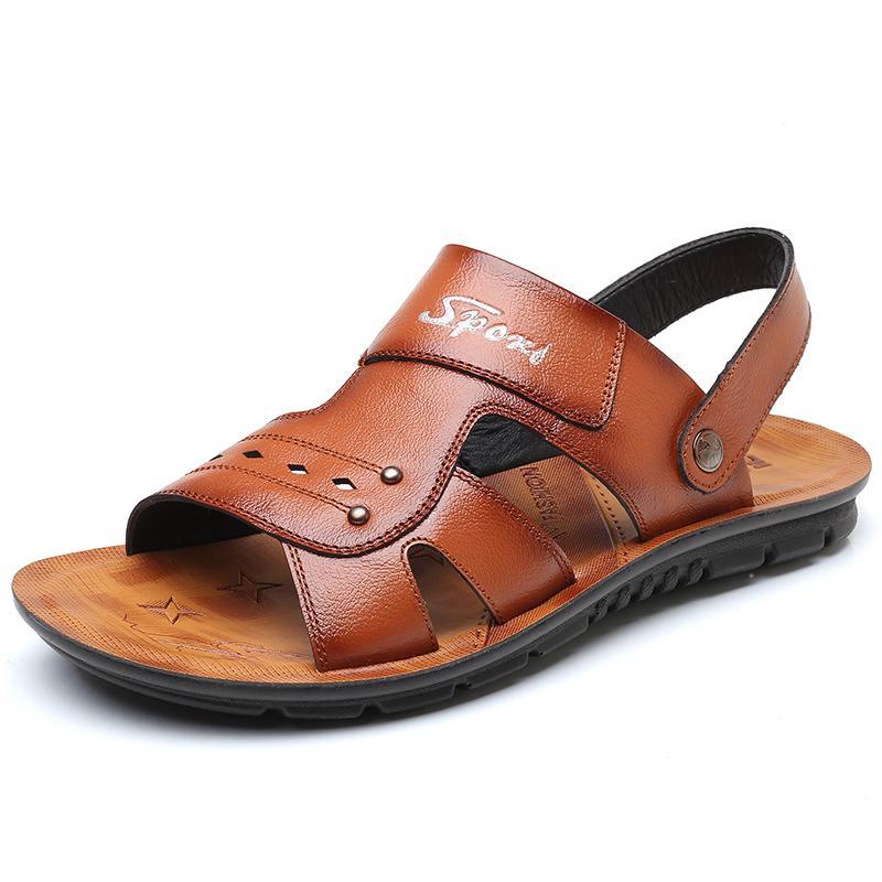 7cc2d0a4276627 Großhandel Outdoor Casual Sandalen Wandern Strand Flip Flops Flache Schuhe  Für Männer Sommer Mode Hausschuhe Sapatos Hembre Sapatenis Masculino Von ...