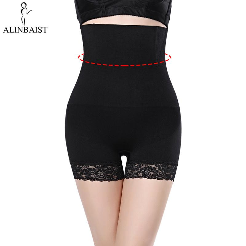 df5a4c9b6 2019 Hi Waist Shapewear Tummy Control Body Shaper Seamless Thigh Slimming  Boyshort Lingerie Butt Lifter Panties Plus Size For Women From Yuhuicuo