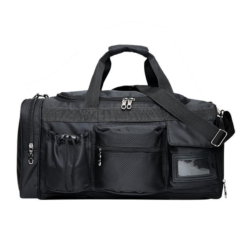 Preis vergleichen geschickte Herstellung abgeholt Reisetasche Reisetaschen Fitness Tasche Reisen Faltbare Verpackung Tragen  Schwarz Taschen Gepäck Für Frauen Männer Organizer Big Bag Handtasche
