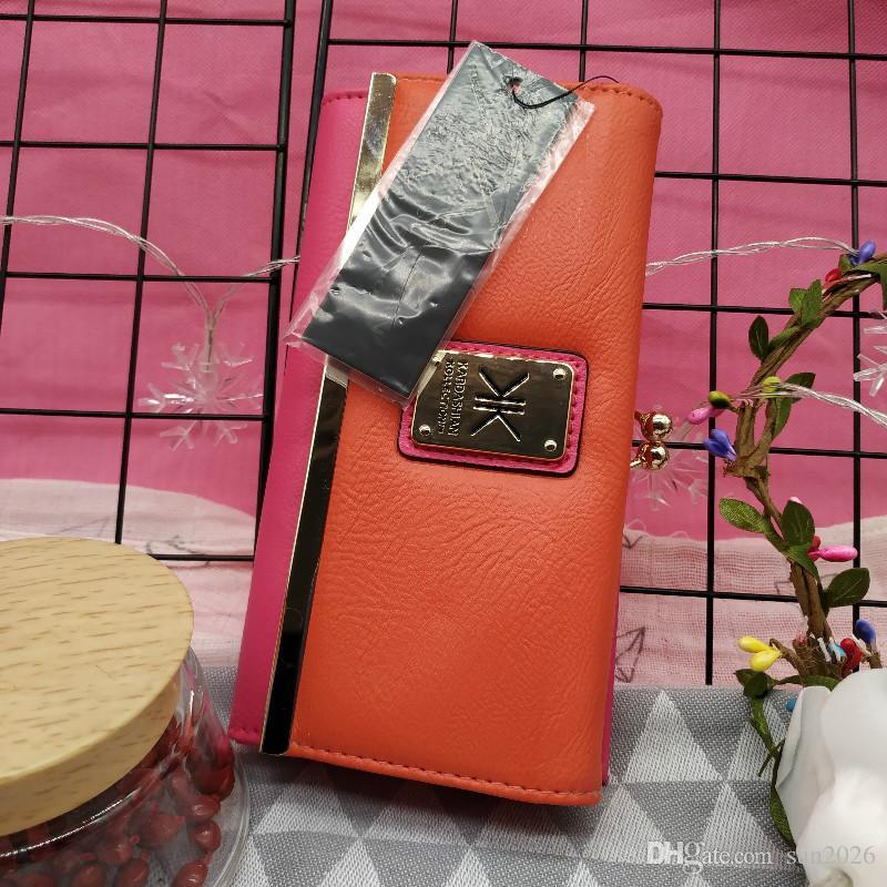 54c2ae625c2d Kardashian kollection women wallet kk clutch Fashion Women's Wallet Lovely  Cartoon Animals Short Leather Female Small Coin Purse Hasp Zipper