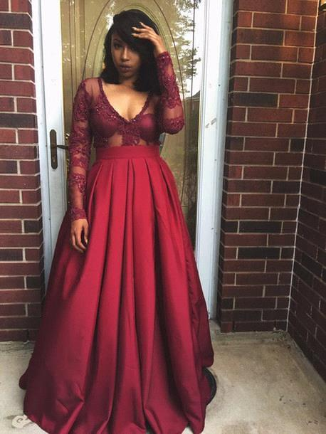 African American Wearing Prom Dresses