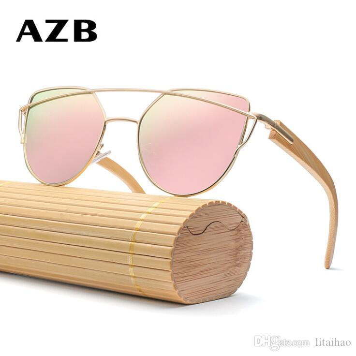 fc1878528c1 New! HDCRAFTER Brand Sunglasses Radiation Protection Glasses Bamboo ...