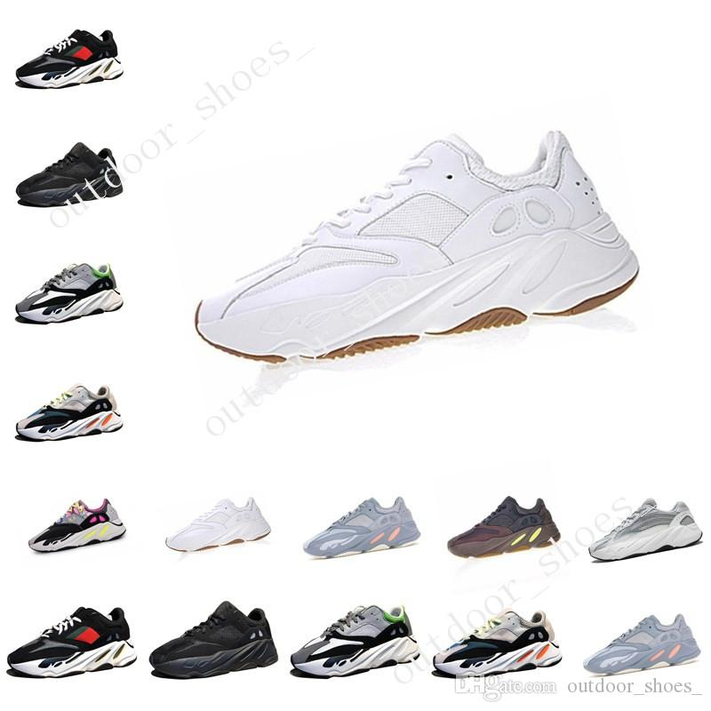 High Quality Kanye West Wave Runner 700 Boots Grey Running Shoes for men 700s womens mens Sports Sneakers trainers outdoor designer shoes