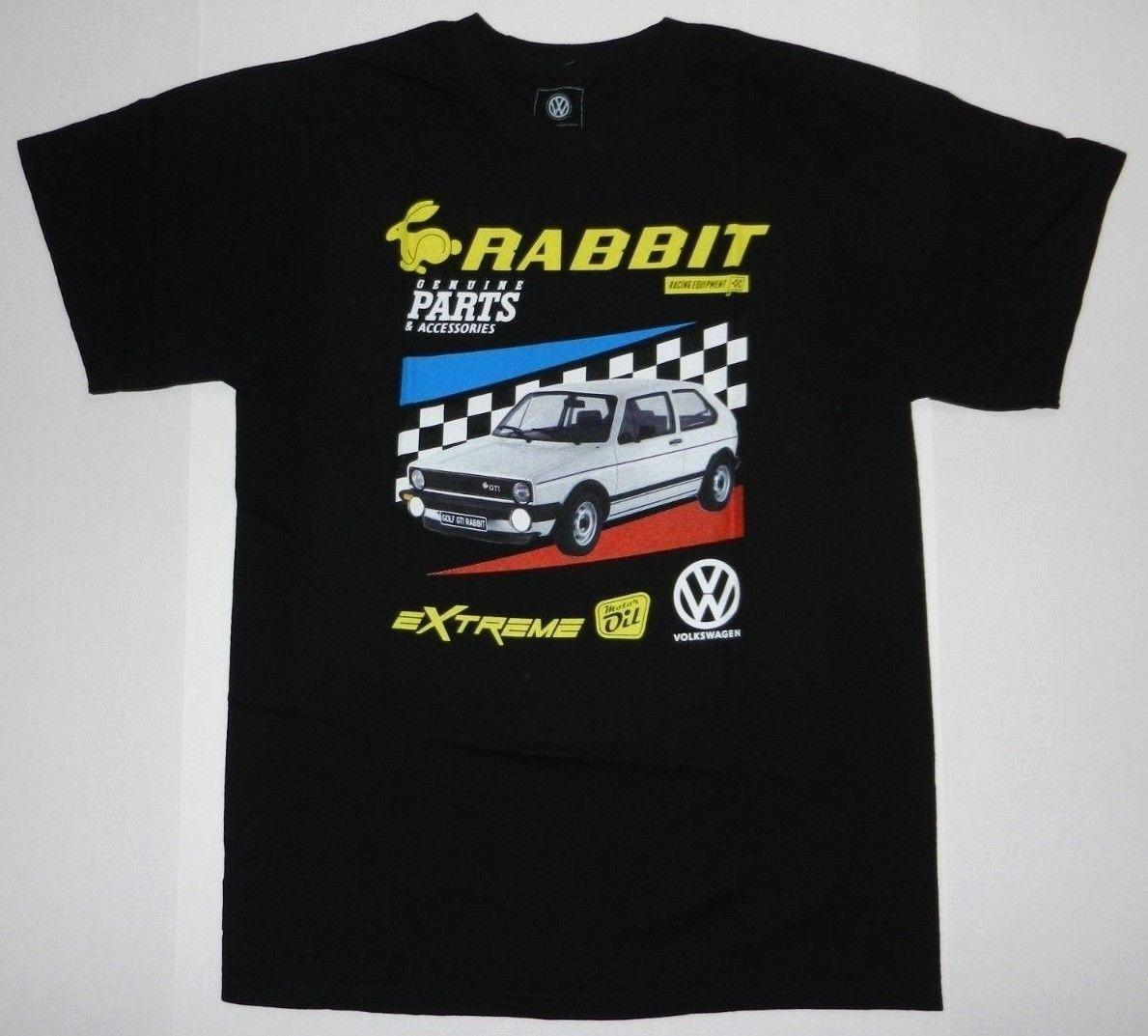 Official Licensed VW rabbit equipment Golf GTI Rabbit Extreme Motor OIL T ShirtFunny free shipping Unisex Casual
