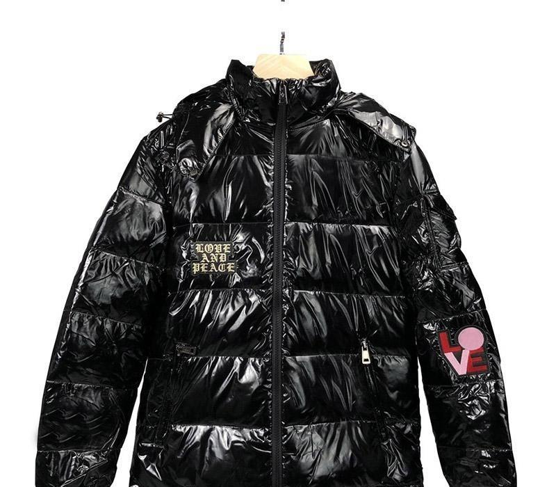 Luxury Mens Designer Down High Quality Men Women Winter Jacket Parka Hip Hop Mens Desigenr Winter Coats Black