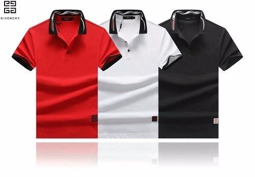 2019 new men's POLO shirt short-sleeved fashion hot personality T-shirt Lapel men's high-end casual explosions 60850091