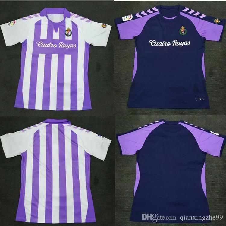 8f210f2e1 2019 New Valladolid Soccer Jersey 6 Luismi 2018 Men HOME Away Real ...