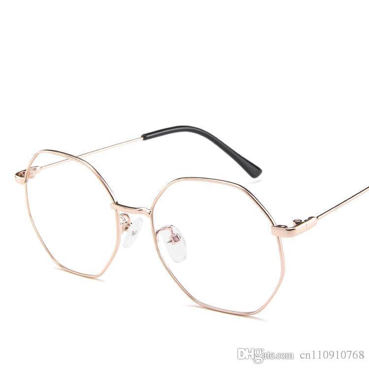 cec90b8faf Compre Estilo Coreano Gafas Para Mujer Gafas Lunette Color De Lente Cat 4  Forma Irregular Metal De Borde Completo TA61 Www. BOTER A $7.29 Del  Cn110910768 ...