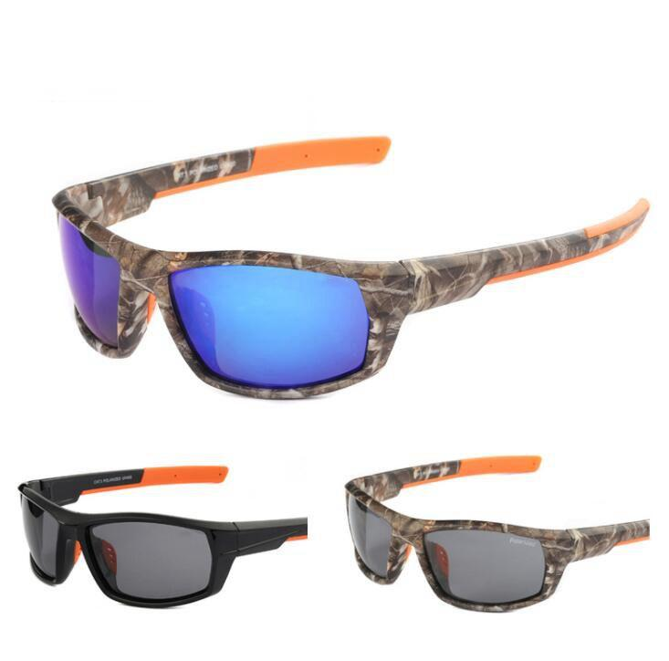 1f6666c0c532 Camouflage Polarized Sunglasses Fishing Glasses Men Women Cycling Hiking  Driving Sunglasses Outdoor Sport Riding Eyewear LJJK1349 Retro Sunglasses  Baseball ...