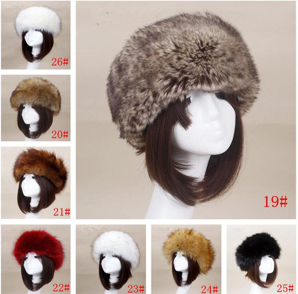 12b5aec919761 Yyun Luxury Brand Russian Cossack Style Faux Fur Headband For Women Winter  Earwarmer Earmuff Hat Ski Hair Jewelry Jewelry Headband From Juhuan