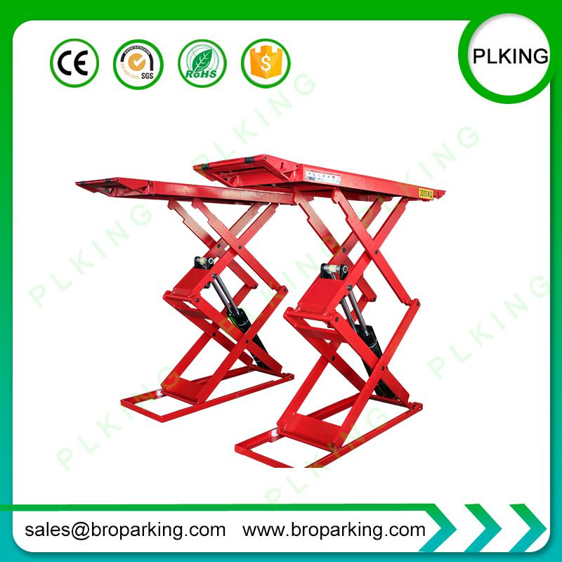 Portable Hydraulic Scissor Auto Lift for Car Service and Vehicle Test