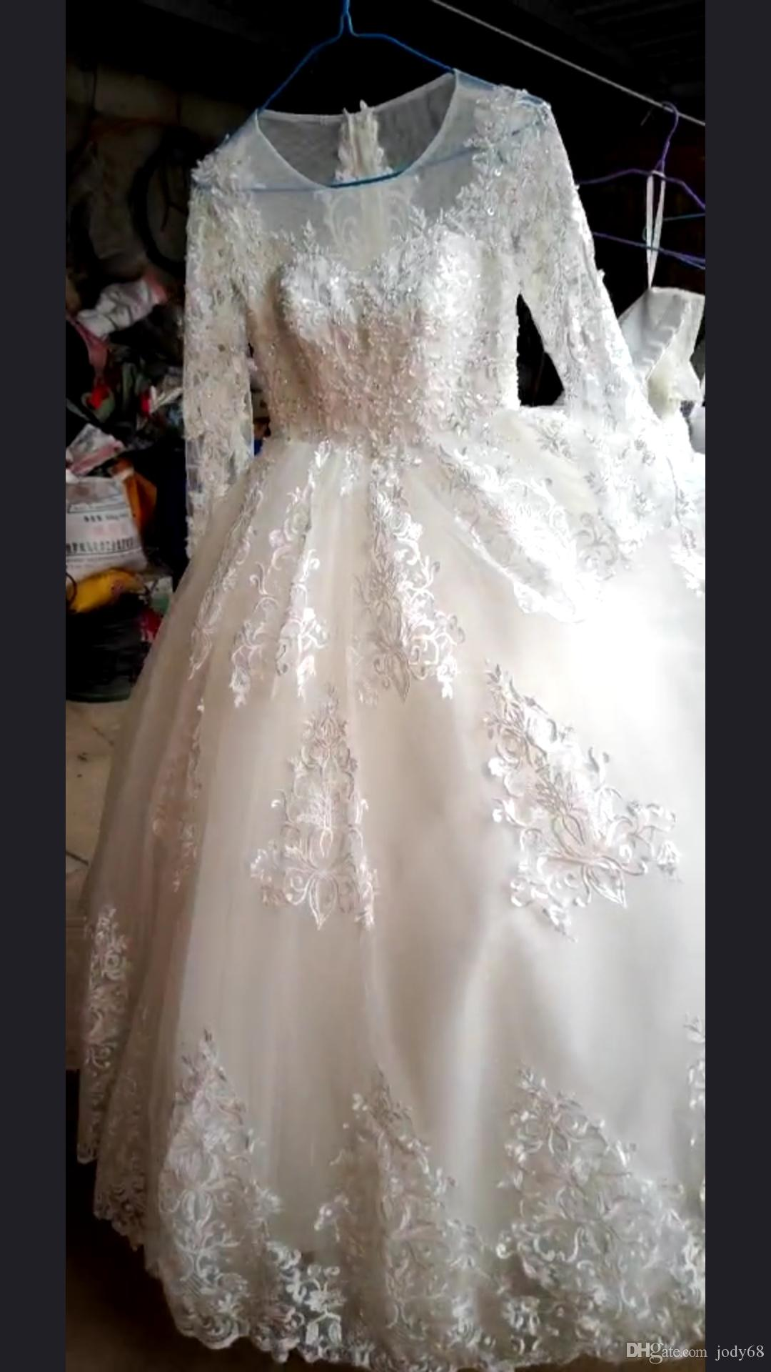 2019 Elegant Luxury And Beautiful Wedding Dresses Super Wedding Gowns  Online with  2450.0 Piece on Jody68 s Store  9060845e0763