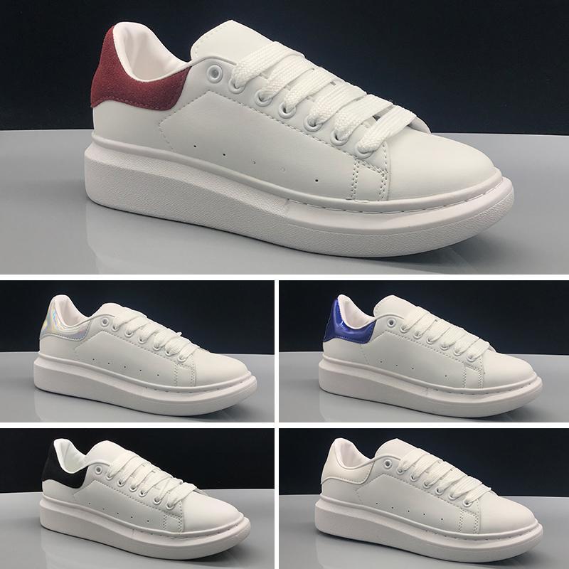 a326aa709e9 Acheter Alexander McQueen Sole Leather Alexander Chaussures Pour Femmes  McQueens Ultra Surdimensionnées En Cuir Chaussures Surdimensionnées  Surélevées Plate ...
