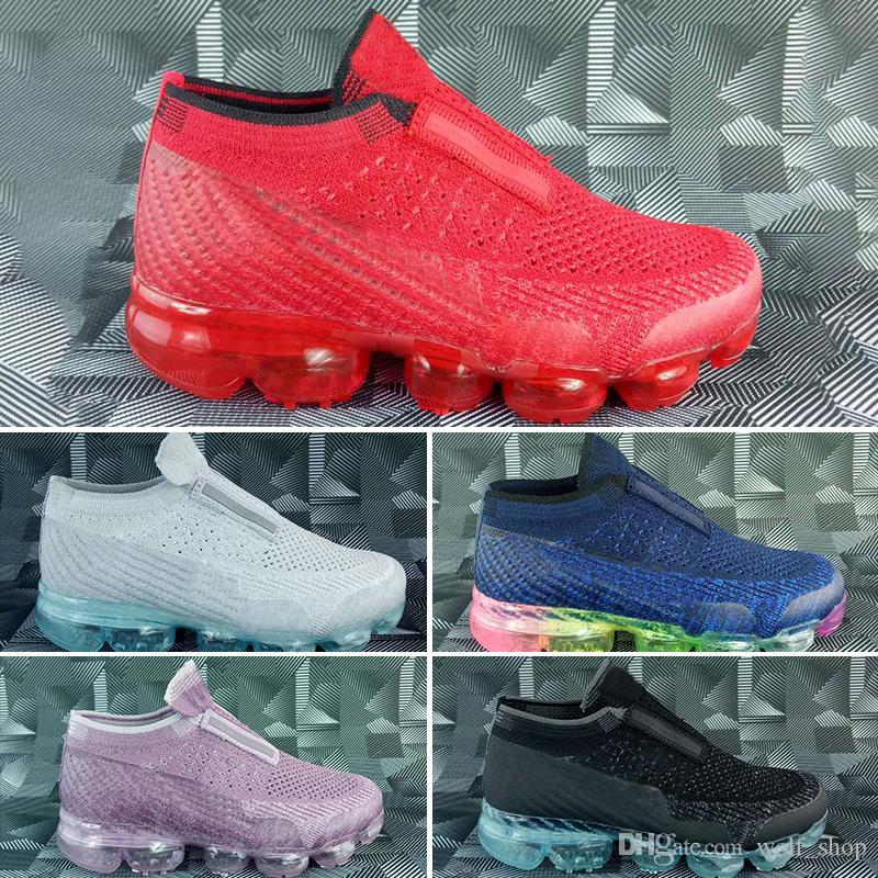 2bcf6bd1d Nike air max Chinelos sem solos Platinum Crianças running shoes Cinza  branco Rainbow infantil Infantil calçados esportivos da criança formadores  menino ...