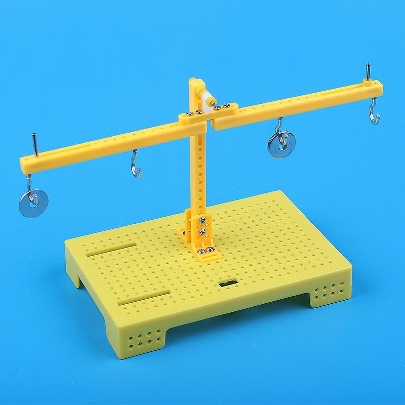 Science and technology small production scientific experiment toy lever teaching homemade balance weighing balance scale