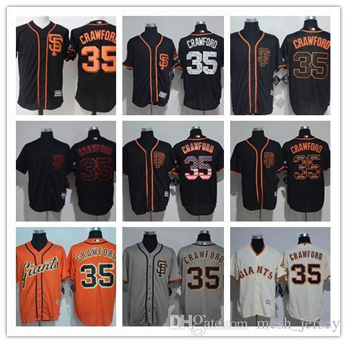 f37a62267 2019 Men Women Youth San Francisco Custom Giants Jersey  35 Brandon ...