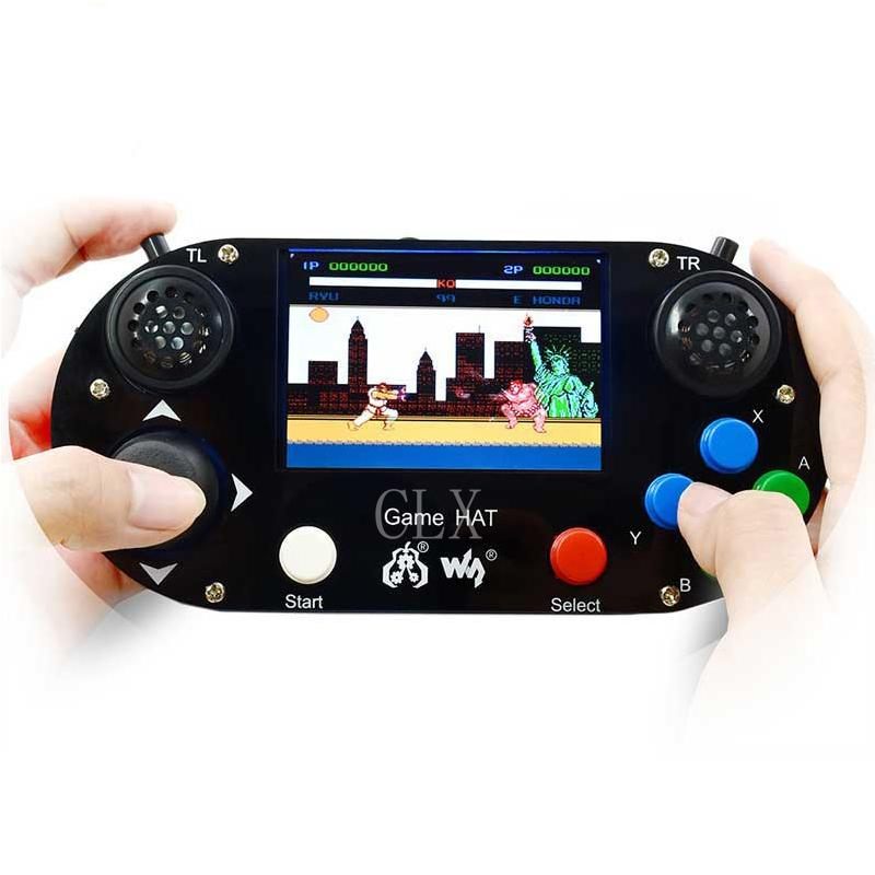 Freeshipping Raspberry Pi 3B Game LCD 3 5inch HDMI LCD Gamepad on board for  Raspberry Pi 2B zero w RetroPie with Case