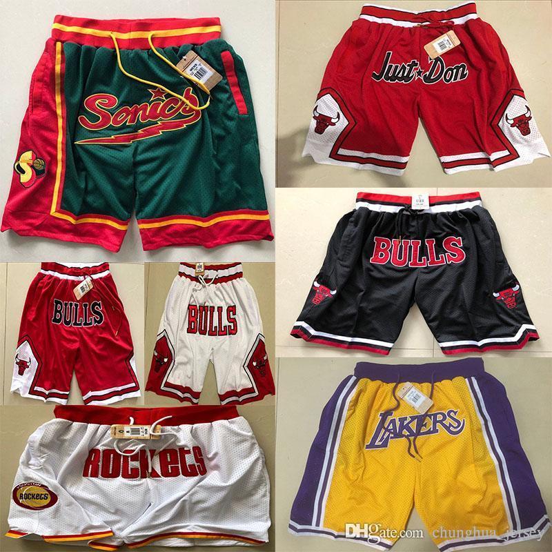 size 40 94f03 e197d James Rwtw Shorts Lebron Basketball Pants Retro FOG Sports Mesh LBJ Ball  Pants