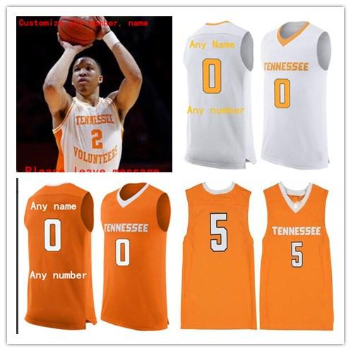innovative design a711a b52e3 Custom Tennessee Volunteers Basketball Jersey Grant Williams Admiral  Schofield Bone Bowden Lamonte Turner Jerseys Stitched Any Name Number