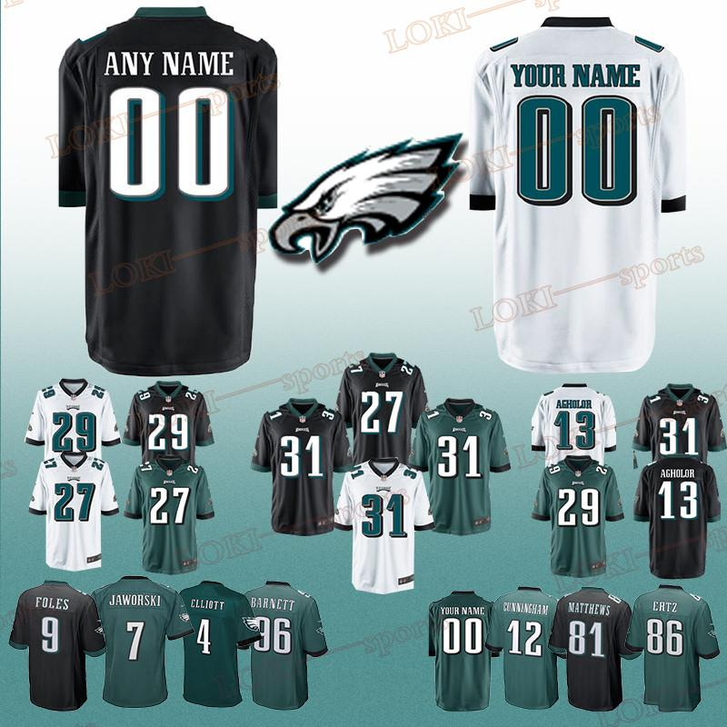 best service 76a9c db0eb Philadelphia 33 Eagle jerseys 31 Jalen Mills 26 Jay Ajayi 27 Malcolm  Jenkins 62 Jason Kelce Can be customized jersey