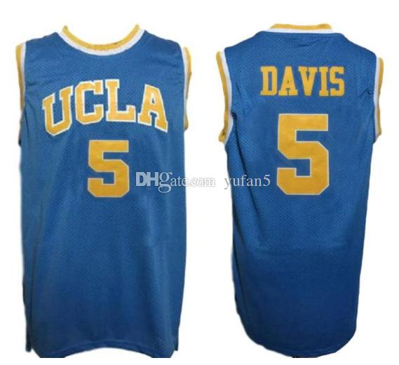 ad1d3969 2019 #5 Baron Davis UCLA Bruins College Retro Classic Basketball Jersey  Mens Stitched Custom Number And Name Jerseys From Yufan5, $23.35 |  DHgate.Com