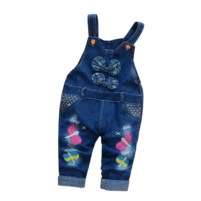 0bf03901b12 BibiCola Baby Girls Overalls Pants Trousers Jeans Infant Denim Jumpsuit Bib  Pants Toddler Spring Autumn Jeans Jumpsuits Clothes Girls And Jeans Boys  Jeans ...