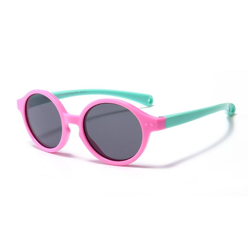 a817aa6e0231 New Children's Round Fashion Sunglasses Polarizer Uv Sun Glasses ...