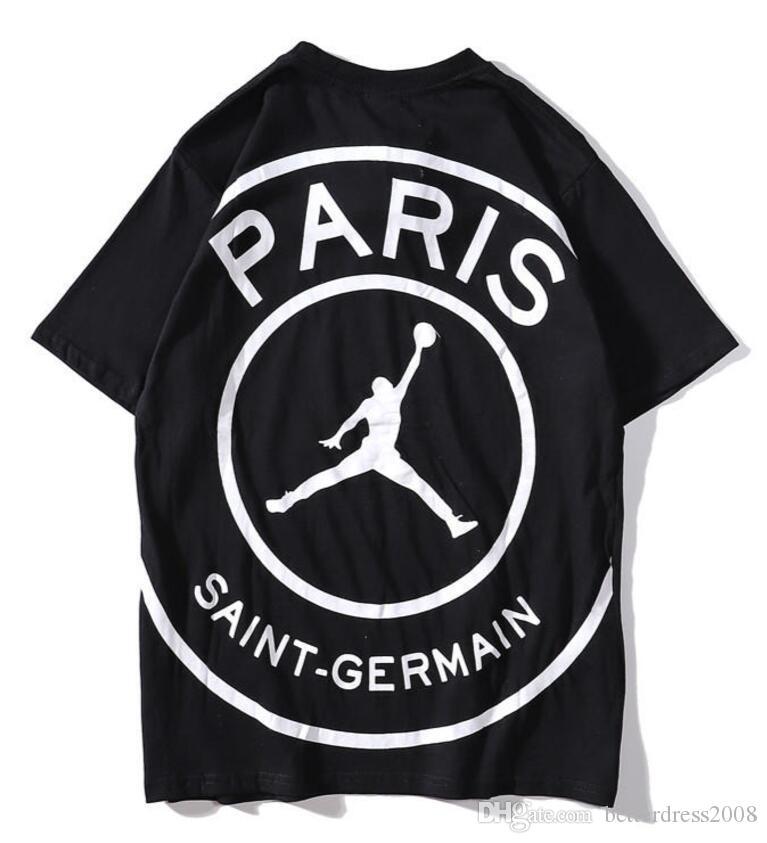 a1b7d8071 Pareja Camiseta Hombre Mujer Jordan Nike Paris Compre Moda tsQdrhC