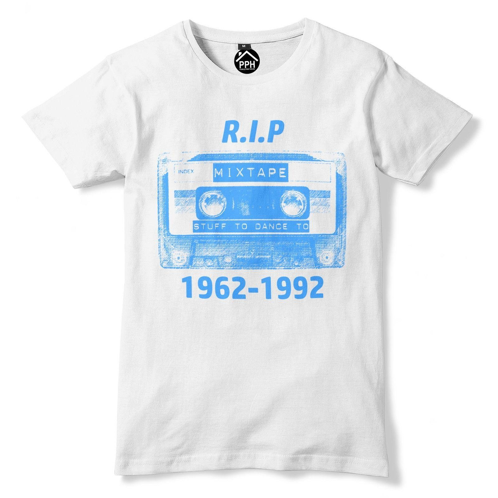 RIP Cassette Tape T Shirt Old School 80s 90s Music Tshirt Top Disco Dance  Personality 2018 Brand High Quality Top Tee Print Summer Style
