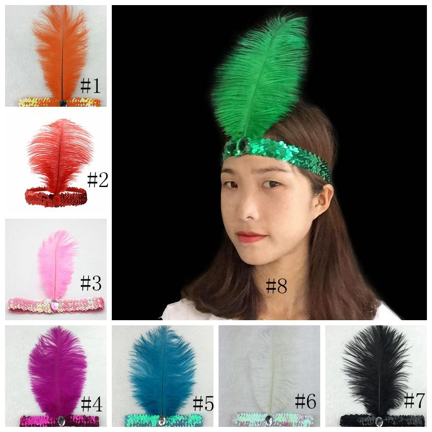 bd68d92e26d Cheap Wholesale Feather Headband Supplies Cute Newborn Feather Headbands