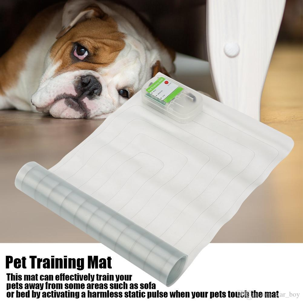 Dog Shock Mat Pet Scat Mats Safe Indoor Dog Cat ScatMat Electronic Pet Training Mat to Keep Pets off Furniture Sofa 3 Sizes