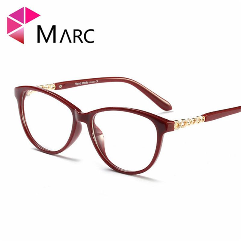 b5f80cfd454b MARC Retro Cat Eye Glasses Sexy Optical Frames Clear Glasses Women ...