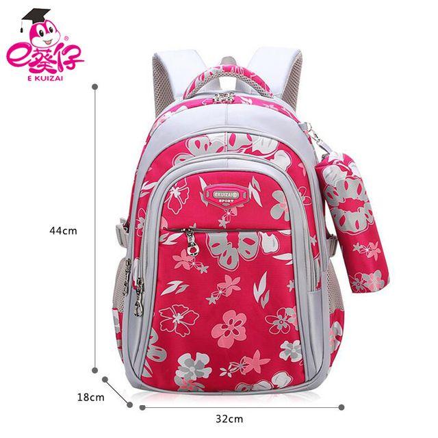 New Big Capacity Zipper Black pink School Bags for Girls Brand Women ... b35e10dce28e5