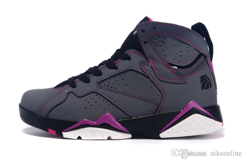 e1cbea81bb1940 2019 Womens Jumpman 7 VII Basketball Shoes 7s Marvin The Martain Lola Bunny  Valentines Days UNC J7 Air Flights Sneakers For Youth Kids With Box From ...