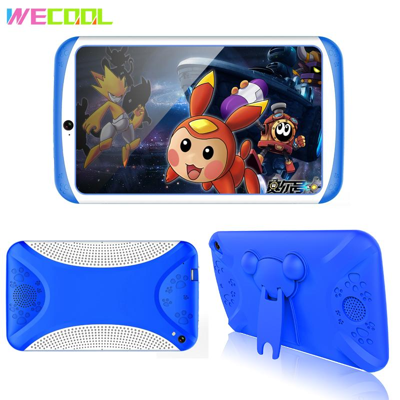 WeCool Q798 Kids Tablet PC 7 Inch Android Tablet Quad Core 8GB 1024x600 Screen Children Education Games Xmax Birthday Gift PAD