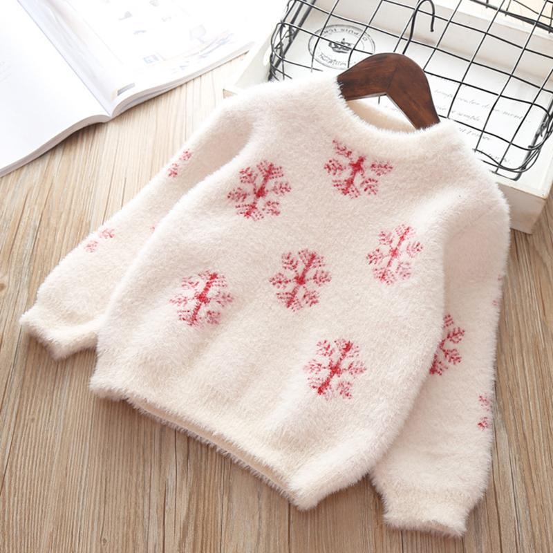 7b7aa07c7 Winter Autumn Toddler Girl Sweater Long Sleeve Warm Baby Girls ...
