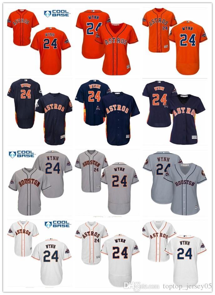 online store ee445 8ef1f 2018 top Houston Astros Jerseys #24 Jimmy Wynn Jerseys men#WOMEN#YOUTH#Men  s Baseball Jersey Majestic Stitched Professional sportswear