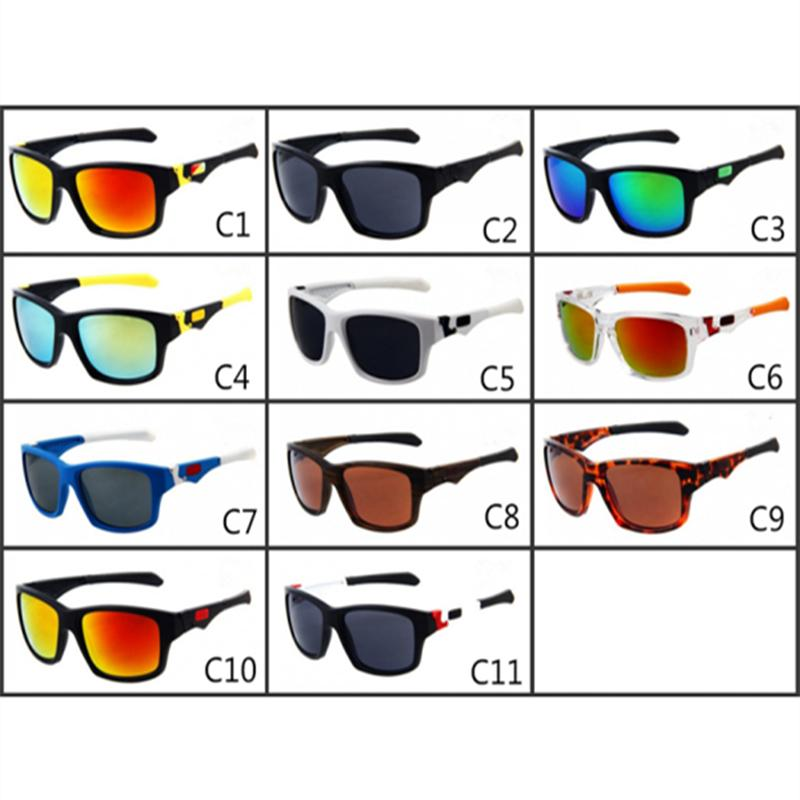 Sports spectacles Bicycle Glass 11 colors big sunglasses 9135 sports cycling sunglasses fashion dazzle colour mirrors LE340