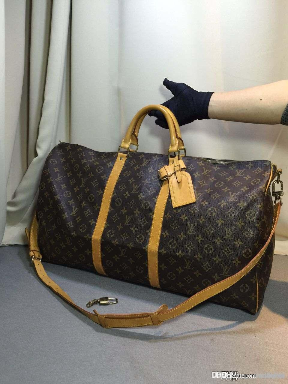 Louis Vuitton Vv Women Luggage Bags Men Leather Handbags Michael V88