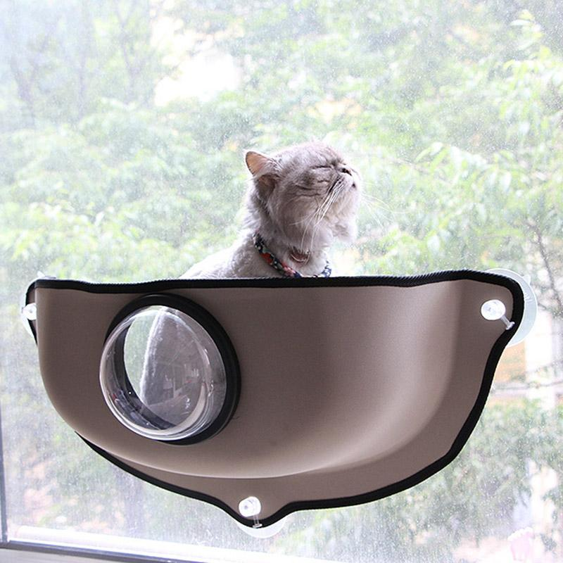 Acheter Creative Transparent Couverture Chat Hamac Chat Fenetre Lit