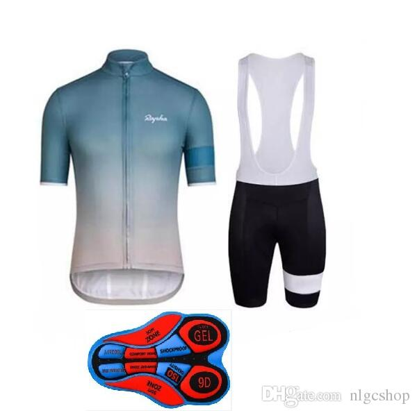 2018 Men Team RAPHA Cycling Short Sleeves Jersey Bib Shorts Sets Cycling  Clothing Breathable Outdoor Bicycle Clothing Bicycle Shirts Cycle Clothes  From ... 8220be260