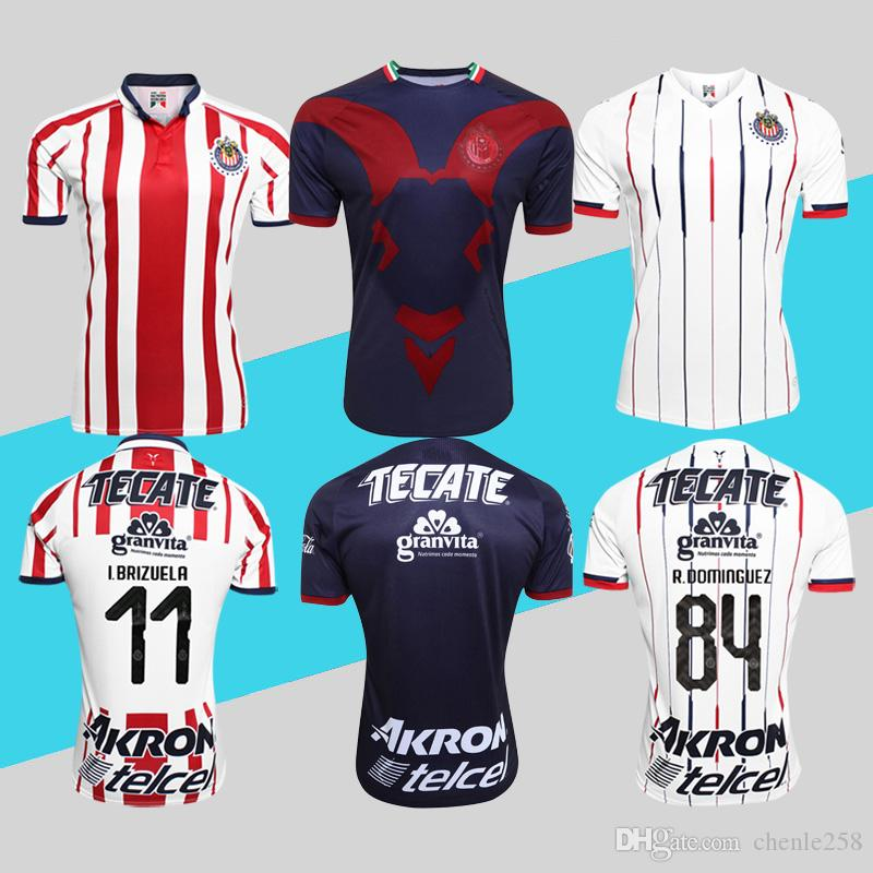 2019 Liga Mx 2018 2019 Chivas Soccer Jersey Home Away Third Football Shirt Guadalajara  Uniforms More Free DHL Shipping From Chenle258 34b4c2d95