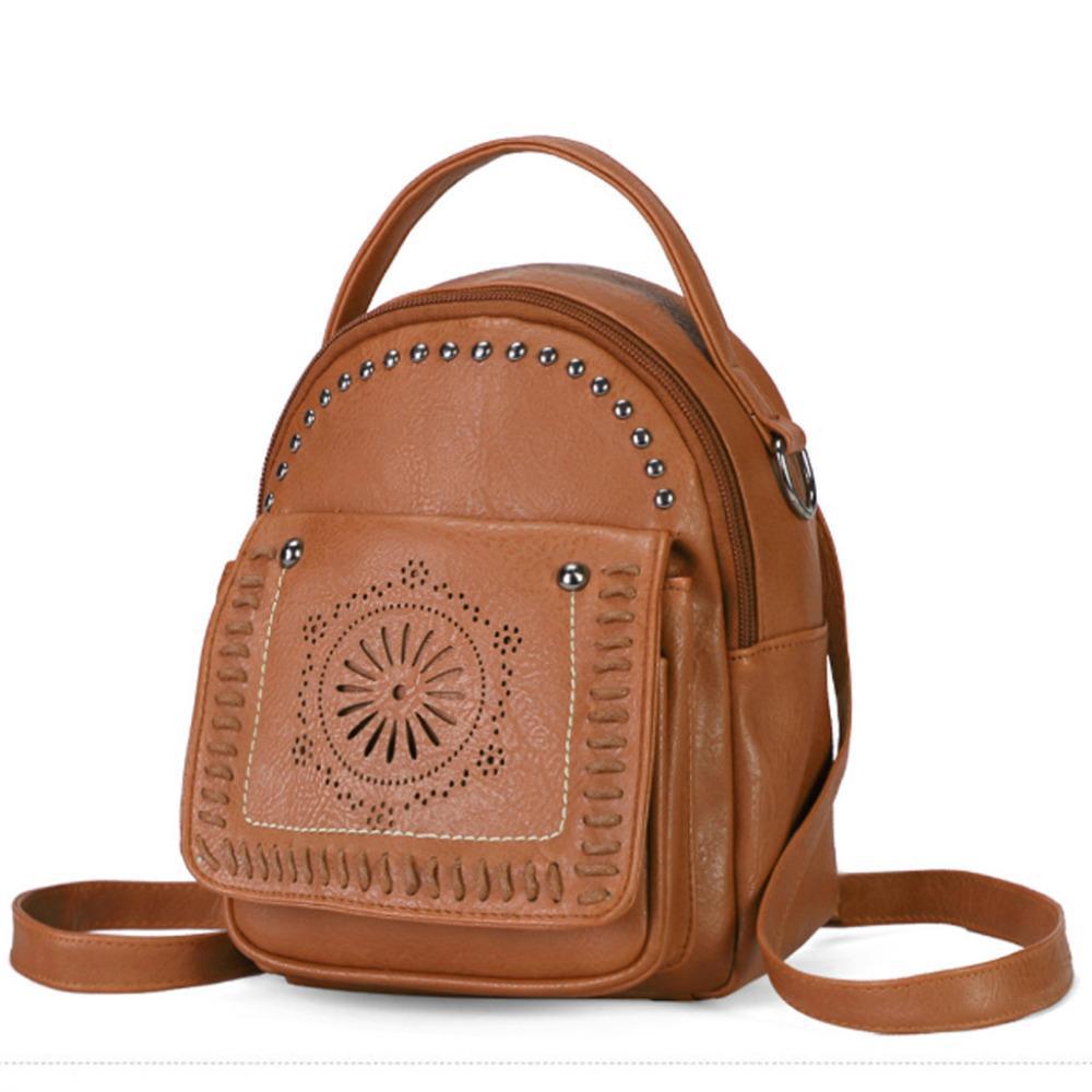14644d13434 Aelicy Fashion Women s Packet Zipper Square Versatile 2019 Women Leather  Backpack Laptop Retro Travel School Simple Bag