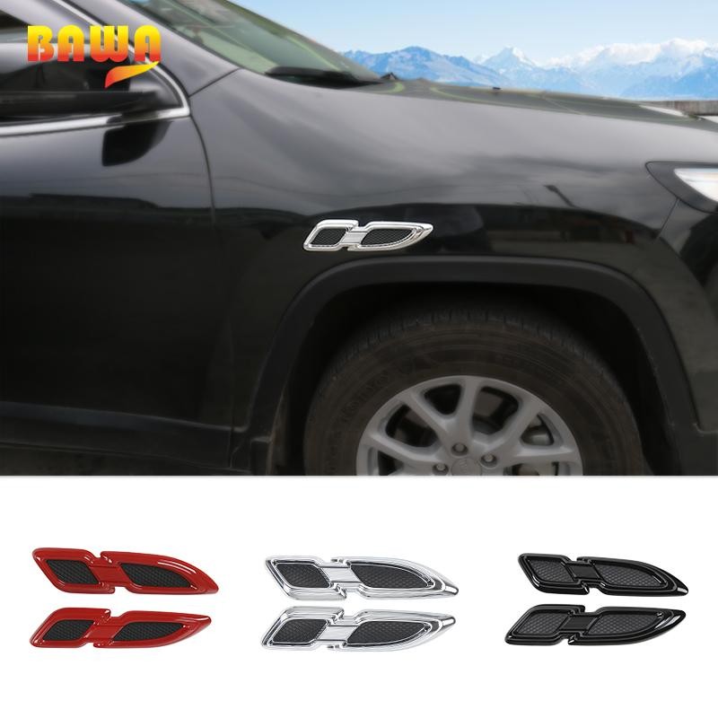 2019 Bawa Car Stickers For Jeep Renegade 2016 2017 Abs Side Body