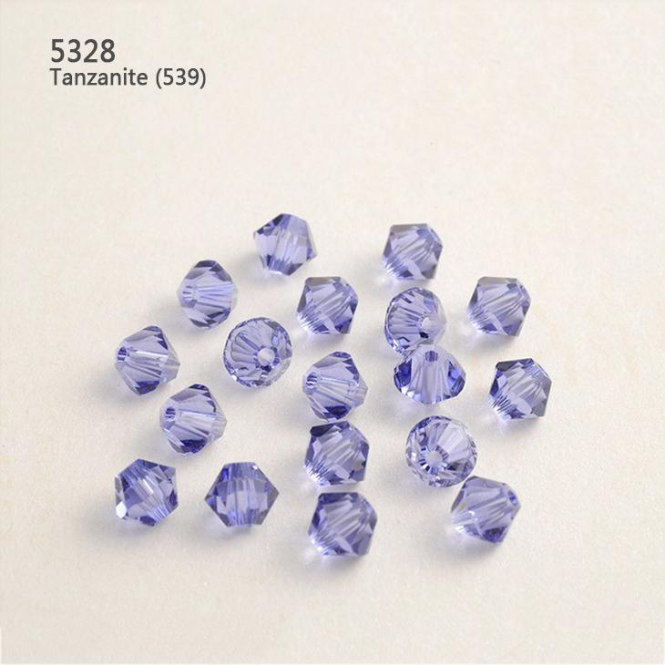 Multi Colors Swarovski Element Crystal Beads 5mm Rhombus Diamond Loose  Gemstone With Throught Hole For Jewelry Making And Clothes Swarovski Crystal  Beads ... a86b0b86de08