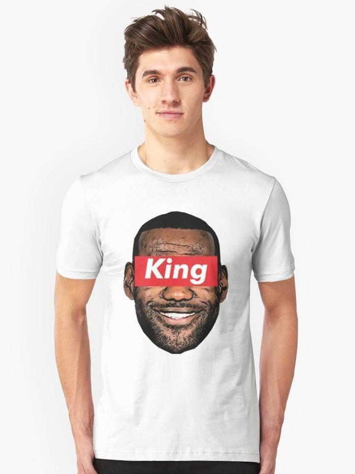Lebron James T Shirt Fashion Style Labron King For Men High Quality Custom  Printed Tops Hipster Tees Short Sleeve Tops Tee Moto Shirts Tee T Shirts  From ... e54e37120a57