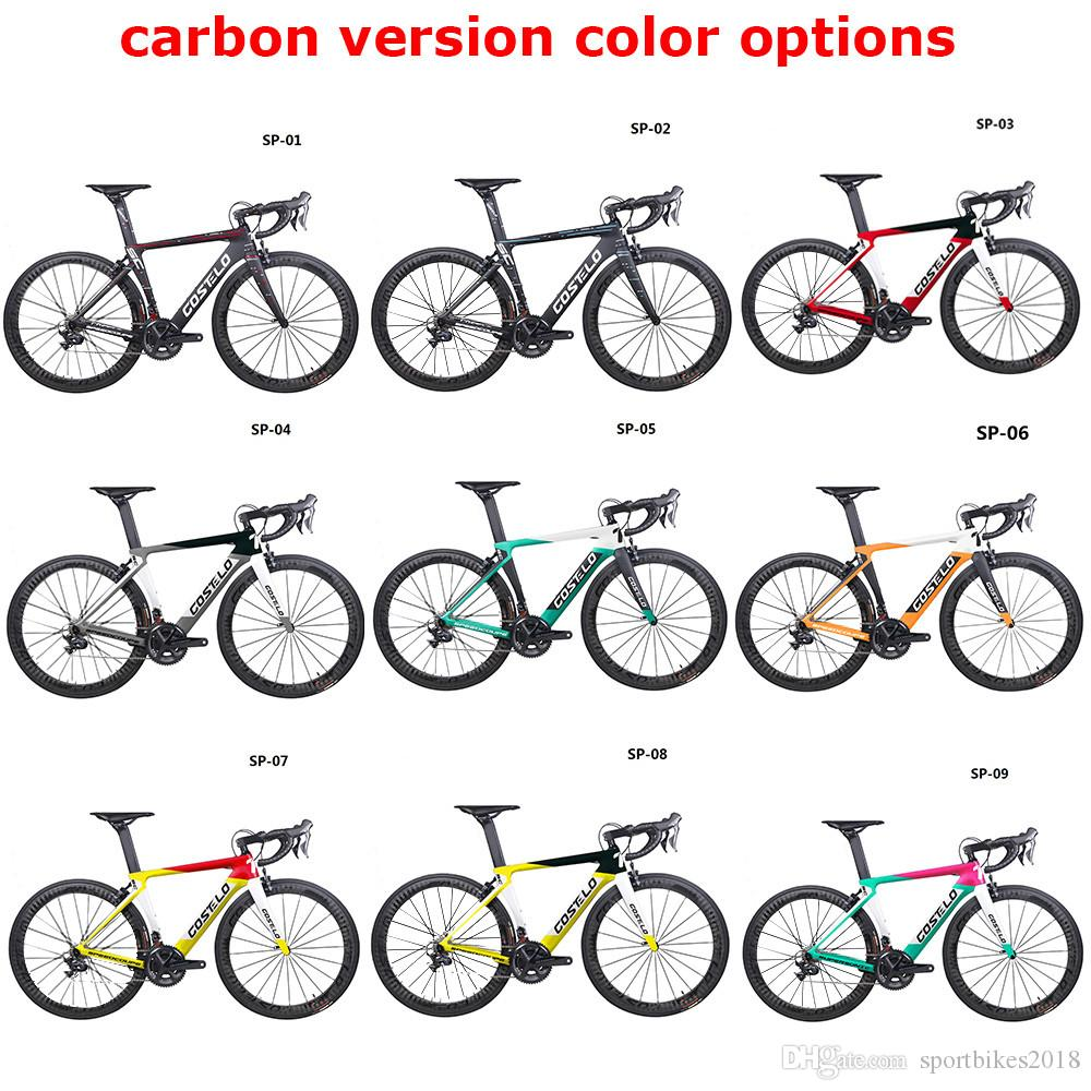 HOT SALE!full carbon costelo lucca road bicycle carbon bike DIY complete road bike completo bicicleta completa2019 Costelo Speedc