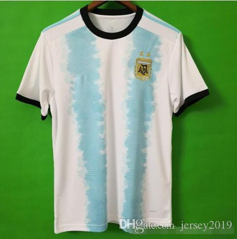 1220881c1af Thailand Argentina Soccer Jersey Copa America 2019 2020 New Season ...